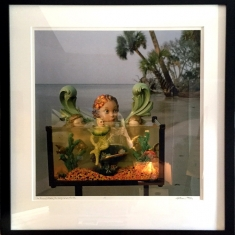Prince  of Atlantis SOLD - Printed by Graham Nash 2000 41 x 43 framed 1/1