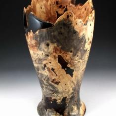 Buckeye Burl Vase - #1