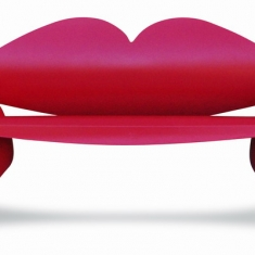 Lips Bench - Powder Coated made from Salvaged Propane Tanks