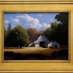 Dark Grove SOLD - Oil on Canvas 18 x 22 Framed