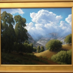 Gaviota Pass-Sold - Oil on Canvas-Commission