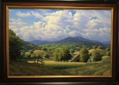 Rancho Arroyo SOLD - Oil on Canvas 2020 31 X 43 Framed
