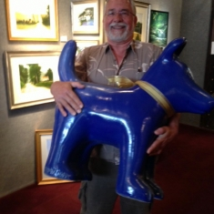 Very Happy Client - Blue Dog