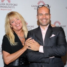 Janet Robers and Billy Zane -