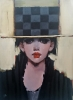 Can I Leave My Hat On SOLD - Oil on Canvas 38 x 50