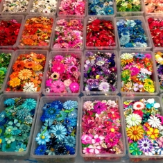 Lots of Flower Pins!!!