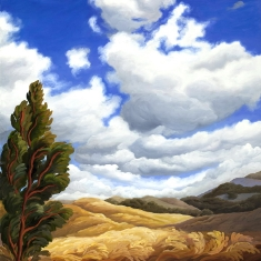 Summer SOLD - Oil on Canvas 30 x 26 Unframed