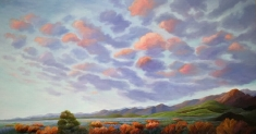 SOLD. The Persistence of Undeniable Beauty - Original Oil on Canvas Museum Wrapped 40 x 74 x 3