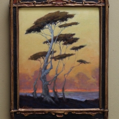 Coastal Daze SOLD - Oil on Linen 11 x 14 Deco Frame