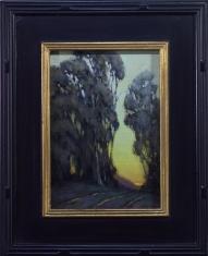 Small Gatherings - Oil on Linen 9 x 11 Framed