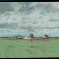 Strawberries-Santa Maria - Acrylic on Canvas 42x29 Framed