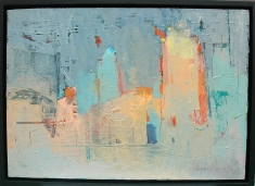 Destruction - Oil on Panel 19 x 14