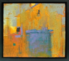 Golden Years SOLD - Oil on Panel 11 x 9.5 Framed
