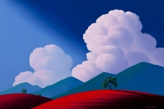 Beautiful Day - Oil on Canvas 24 x 36