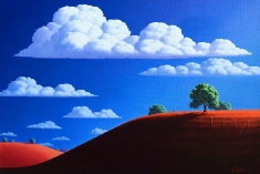 Blue Skys SOLD - Oil on Canvas 24 x 36