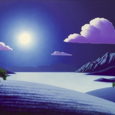 Full Moon SOLD - Oil on Canvas 24 x 36