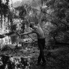 Adam in the Park - New York, 1982 16x20