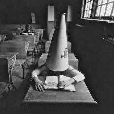 Boy with Dunce's Cap - New York, New York 1972 16x20