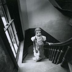 Girl in Mask - 1975 New York