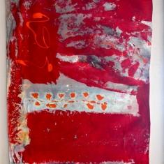 Yee-Mee-Lous - Oil on Fabric