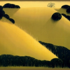 Golden Hills - Serigraph