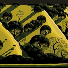 Live Oak Country _1 - Serigraph 16.75 x 22 Image Size