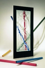 Clear Cuesta - Klin Fired Glass