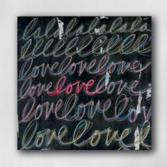 Love Print - Print on Canvas 14 x 14