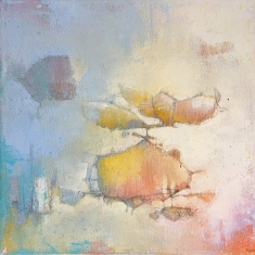 Drifting Like A Cloud - Oil on Canvas museum wrapped 12 x 12