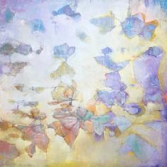 Follow the Sun - Oil on Canvas 30 x 30