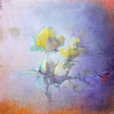 Memories Reimagined SOLD - Oil on panel 18 x 18