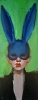 Bad Bunny SOLD - Oil on Canvas 16 x 40