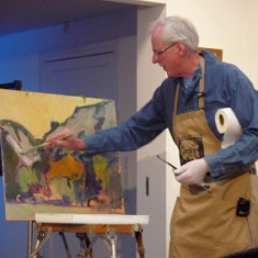 Karl Dempwolf - Painting Demonstration