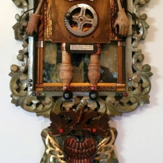 Watchman - Wall assemblage 20 x 14 x 3