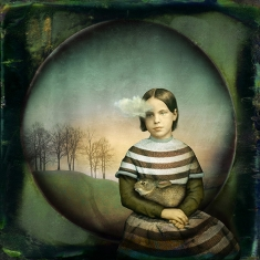Girl With Small Cloud