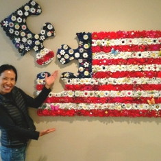 Old Glory SOLD - Went to Los Gatos 31 x 48