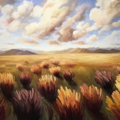 Meadow - 44 x 66 Oil on Canvas