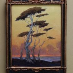 Coastal Daze SOLD - Oil on Linen 11 x 14 Deco Frame