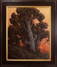 Early to Rise $$5400 - Oil on Linen 38 x 32 Framed