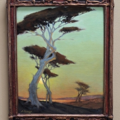 Ill Follow the SunSOLD - Oil on Linen Vintage Frame 11 x 14