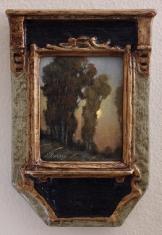Slow Roll - Oil on Linen Deco Frame $695