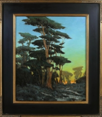Slowing the Pace  $4200 - Oil on Linen Framed 29 x 33 $4200